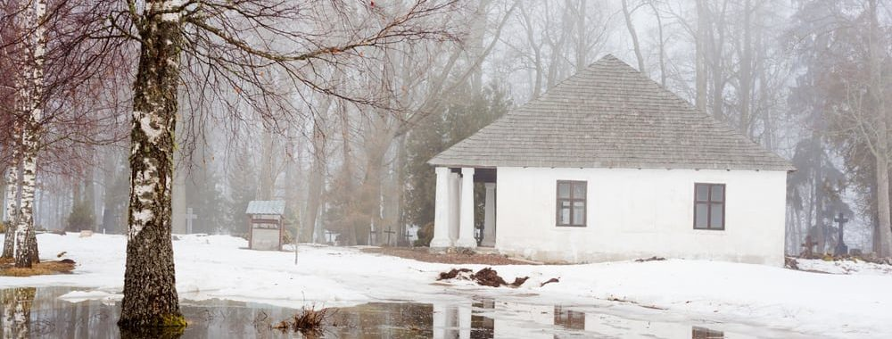 melting snow causing flooding and water damage inside property by McMahon Services and Construction of Chicago, Arlington Heights, Berwyn, Des Plaines, Evanston, Grayslake, Mundelein, Libertyville, and Skokie, IL